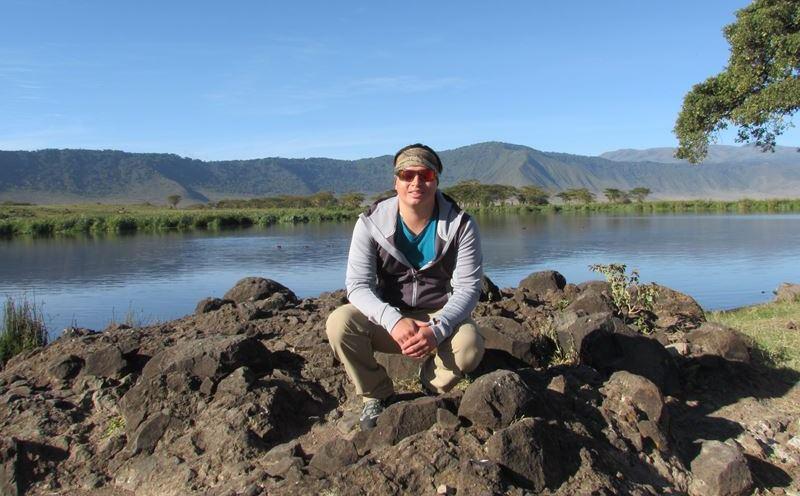 Carlos en Safari Ngorongoro