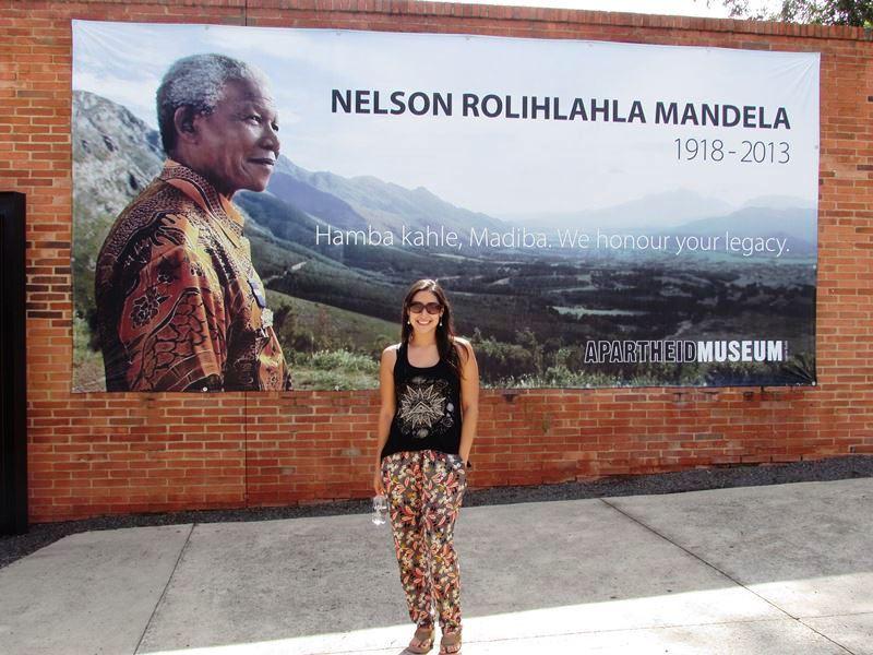 Daniela en Sudafrica