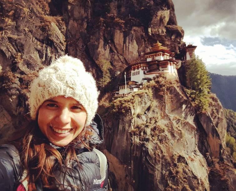 Cecilia en Viaje a Bután