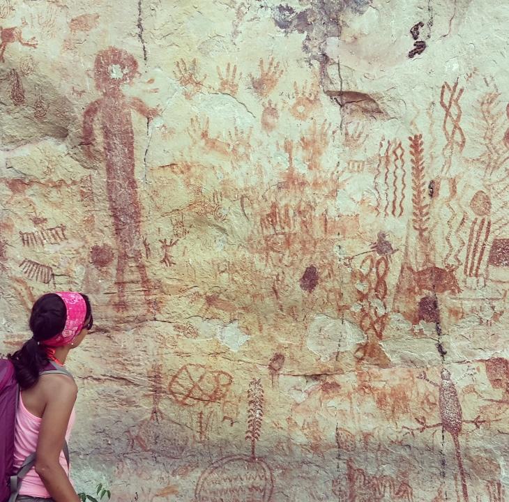 Pictoglifos, San José del Guaviare