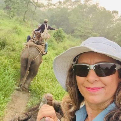 Viajera Ayana Viajes en Nepal